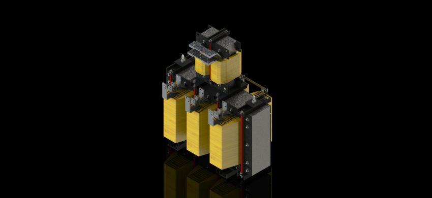 THREE-SIX PHASE TRANSFORMER (SHUNT) - TTEAI - ISO